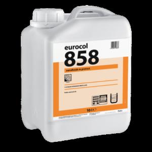 Полиуретановый водно-дисперсионный лак 858 Eurofinish M Protect 10 л фото