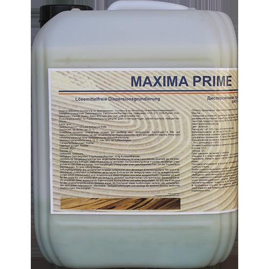 Грунтовка на дисперсионной основе MAXIMA prime, 5 л фото