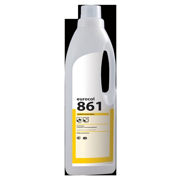 Молочко для паркета 861 Euroclean Milk фото