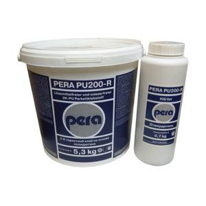 2k паркетный полиуретановый клей Pera PU 200-R, 10 кг фото