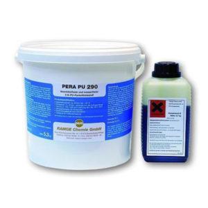 2k паркетный полиуретановый клей Pera PU 290-R, 10 кг фото