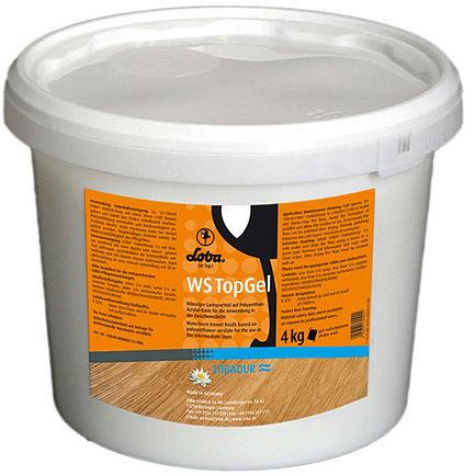 Водный гель Lobadur WS TopGel для нанесение между слоями лака фото