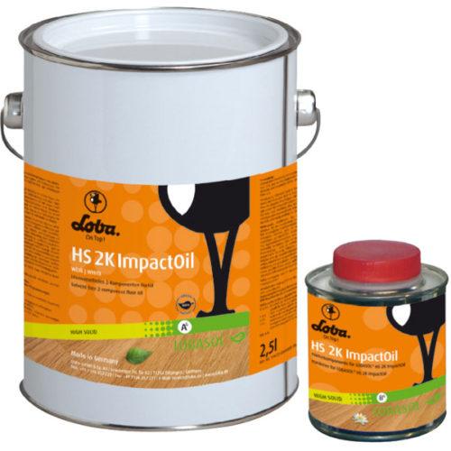2-ух компонентное масло Lobasol HS 2k ImpactOil