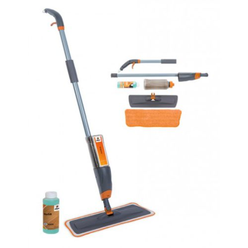 Специальная швабра SprayMopSet для очистки любых водостойких покрытий. (швабра + Refill + сменный моп) фото