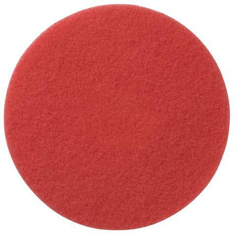 Красный пад для шлифовки паркета Lobatool 406х10 фото