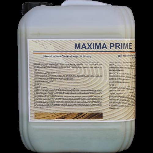 Грунтовка на дисперсионной основе MAXIMA prime, 10 л фото