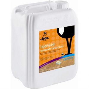 Однокомпонентный водный лак Lobadur WS OptiFinish