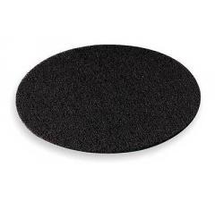 Черный пад для шлифовки паркета Lobatool 406х10 фото